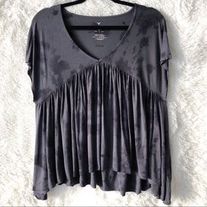 American Eagle Soft & Sexy T Top Grey